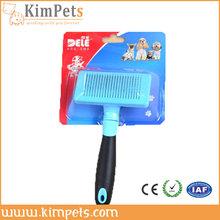 pet product new soft handle dog slicker brush