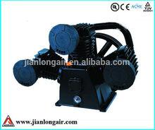 Reciprocating Air Compressor Pump piston type JL3080 with CE three cylinders air compressor pump