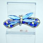 Fashion glass stone flat hair clip bulk hair accessories NFJH14081707