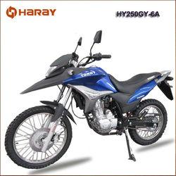 Popular China 250cc Dirt Bike HY250GY-6A