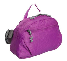 Factory Polyester Women Plain Foldable Travel Bag