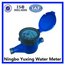 pistón rotatorio volumétrico de flujo de agua contador totalizador