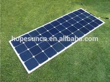 USA Sunpower Semi Flexible Solar Panel 140W Make in China for European