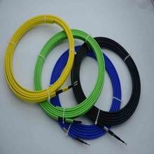 Electric braided self regulate high temperature pipe heating tape
