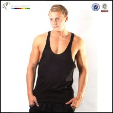 Factory price!!! Mens 100% cotton promotional gift tank top