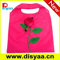 Top Sale Promotional Foldable Bag Rose Foldable Shopping Bag wholesale