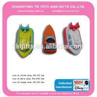 small new plastic ship toys for children