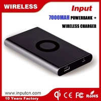 Travel Charger Qi Wireless Charger Power Bank Based on Magnetic Induction