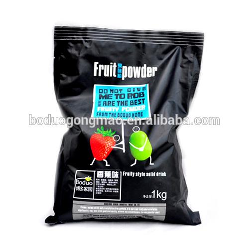 Famous Instant Banana Fruit Powder Factory For Bubble Tea