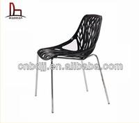 Amozon hot sell Fancier studio Birch Sapling Plastic Accent Dining Chairs Tree Chair