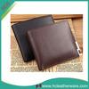 perfect design bi - fold genuine leather men wallet business travel wallet