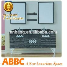 stainless steel round bathroom vanity furniture model no.B-8870
