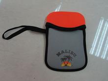 2014 Cheap orange sockproof neoprene digital camera bag for cannon