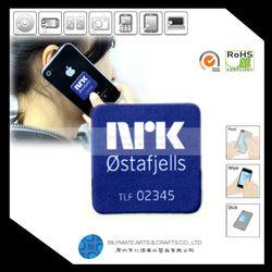 2015 HOT Selling Advertising Adhesive Microfiber Screen Cleaner