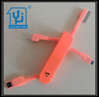 2014 Good Price Swiss Army Knife Style USB Active Data Cable for Smartphone