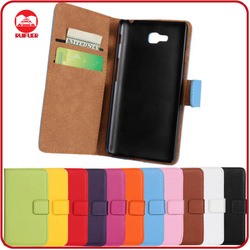 RF Manufacturer Folio Pouch Stand Wallet Flip 100% Real Genuine Leather Case for LG L9 ii D605
