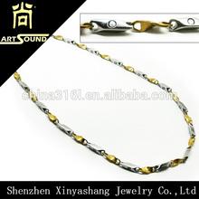 Magnets women titanium fashion necklace health benefits