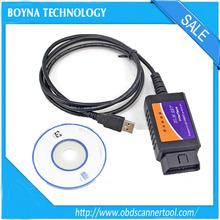 [Factory Price] 2015 Low Price OBD/OBDII Scanner ELM 327 car diagnostic interface scan tool ELM327 USB