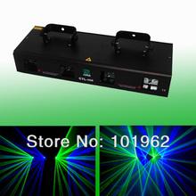 4 Lens 280mW Green&Blue concert laser light for dj show