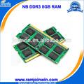Marca y número de modelo CPU 8gb ram ddr3 para laptop precio