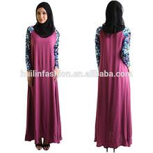 großhandel dubai abaya Burgunder marokkanische abaya verkauf