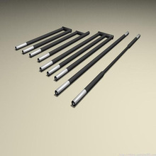 1600C ED/GB/U/W type tubular electric SiC furnace heater
