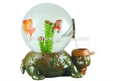 desk and house decoration aquarium fish tank in china