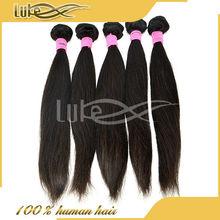hot hair 100 pure remy hair extension 100g/per pcs,1kilo straight brazilian natural black hair