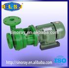 Green FRPP centrifugal submersible water pump