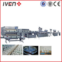 vials iv fluids washing filling and sealing production line