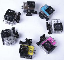 underwater action camera Brosfuture X1HDR helmet Camera Full HD1080@60fps waterproof 60M 1.5'' screen F2.0 6G photo 12MP