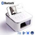 портативный мини акустическая система с fm-радио usb вход( функция будильника)