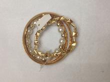 Fashion simple elastic female multilayer retro beaded bracelet adorn article
