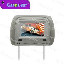 Best 7'' headrest dvd player 16:9 LCD monitor USB/SD/Game/IR car headrest dvd player