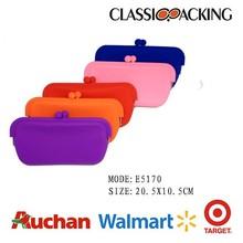 fashion colorful silicon eyeglasses case