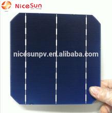 156 high efficiency mono solar cell