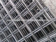 steel reinforced mesh / plain round black wire mesh
