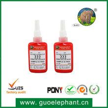 guoelephant 222 Low Strength Thixotropic Thread Locker Anaerobic Adhesive Glue
