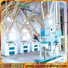complete maize,corn flour milling plant