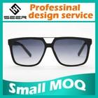 SEER Free Sample Unisex Plastic Injection Molded Sunglasses