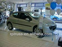 2014 RP hot sell used white dance floor for car show