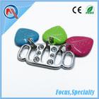 Colorful Heart Metal Ornament For Women Fashion Shoe Decoration