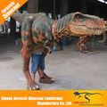venta al por mayor de china la vida personalizado tamaño traje de dinosaurio