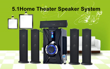 2015 HOT! Audio 5.1 home theater usb subwoofer