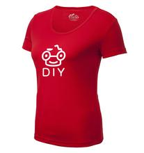 wholesale custom logo blank women's t-shirt