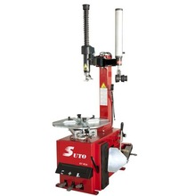 Pneumatic Tire Changer With Right Helper Arm, Semi-Automatic Swing Type