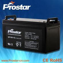 High Capacity Solar Recycling Lead Acid UPS Batteries 12V 120AH