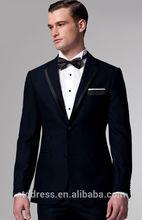 Premium Midnight Blue Tuxedo,handsome tailored,unique wedding tuxedos for men