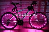 Bike Bicycle 20 LEDs Wheel Spoke Steel Wire rim Cycling Flash Light
