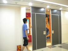 china manufacturer aluminium room divider for commercial offices